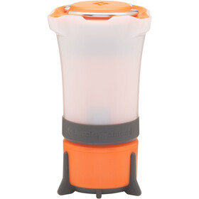 Black Diamond Orbit Lanterne, vibrant orange